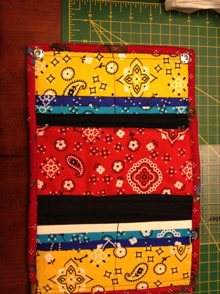 bandana wallet (inside)