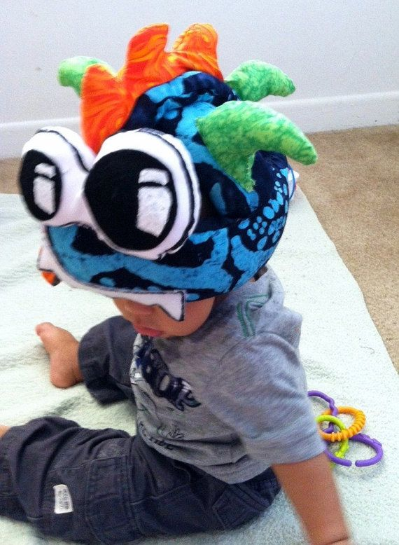 Safety helmet for baby by YeyeandCocoa on Etsy
