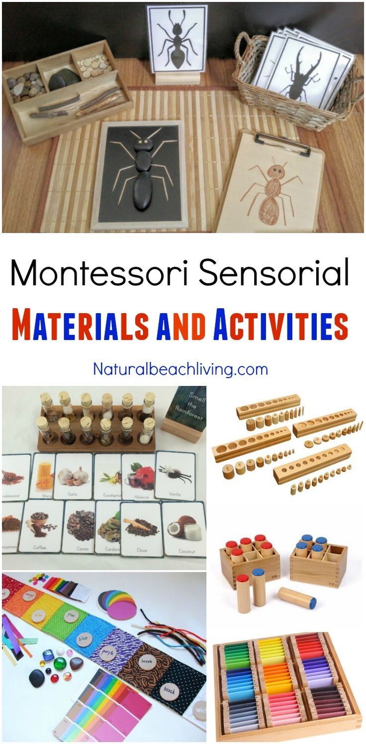 list of montessori materials for preschool best 25 montessori sensorial ideas on 412