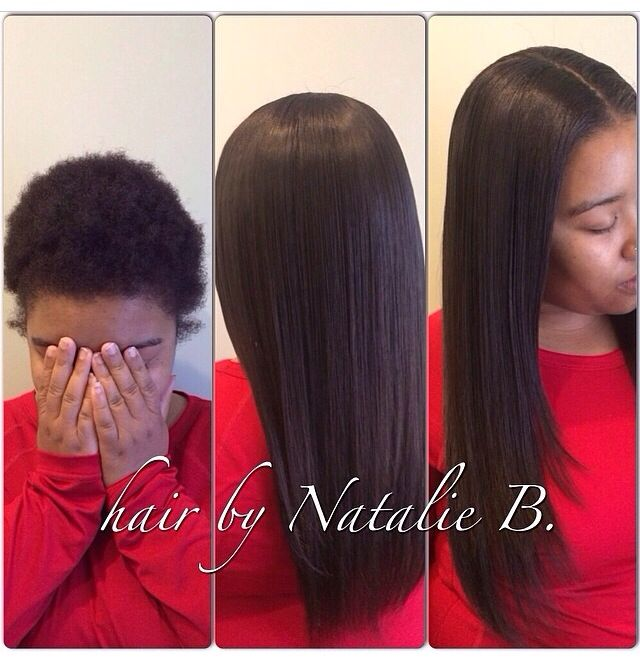 Sew In Weave On Short Natural Hair Hair Extensions Richardson