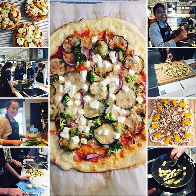 Pizza på 1000 måder🍕 har stået i IKEAs udstillings køkken og lavet pizza de sidste 3 dage med nogle skønne børn der har været på MADLejr. Sikke mange forskellige og spændende pizzaer de fik lavet og kunderne var vilde med det😊👌🏼🍕 #livetsomselvstændig #ernæringskonsulent #odense #ikea #lifeisgreat #happylife #happylifeishealthylife #lovemylife #lovemywork #keepgoing #april #dk #2017