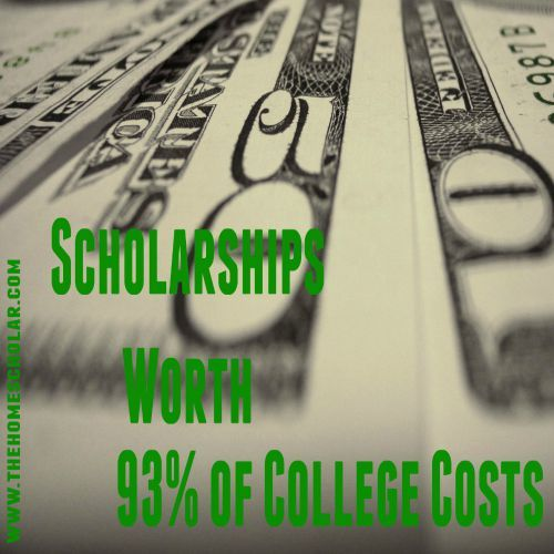 Are you interested in getting scholarships to pay for your homeschooler's college career?