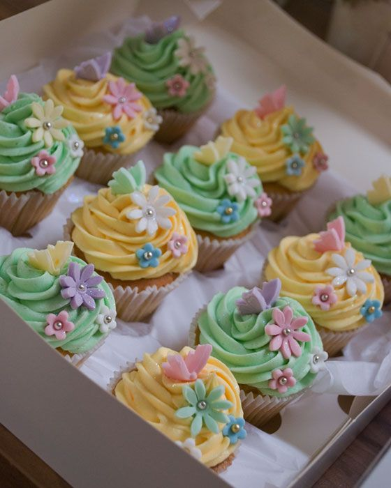 Th Butterfly Cup Cake Ideas