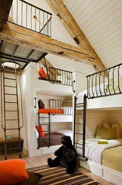 Built-In Bunk Beds by lemai13 Hermes Cabin?