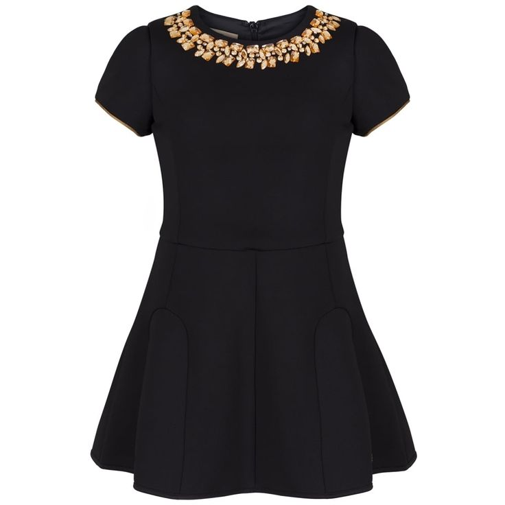 John Galliano Girls Black Dress