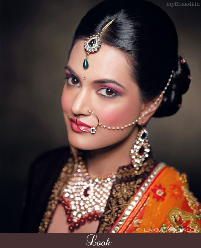 Traditional Bridal Makeup Looks : 11 best images about Community Bridal Looks by Lakme Salon ...