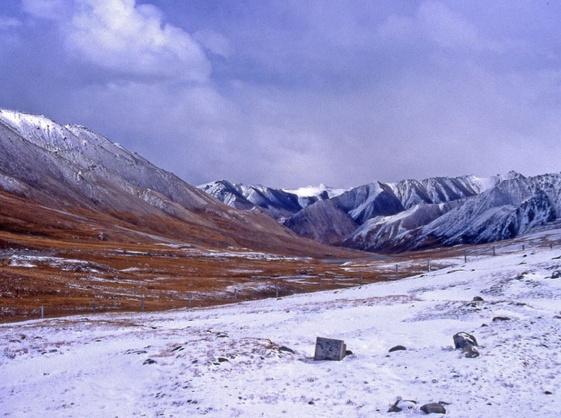 Chine : dans les déserts du Xinjiang, sur la route de la soie. ©Nelly Rohel