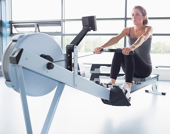 Use this 30-minute routine next time you're near a rowing machine