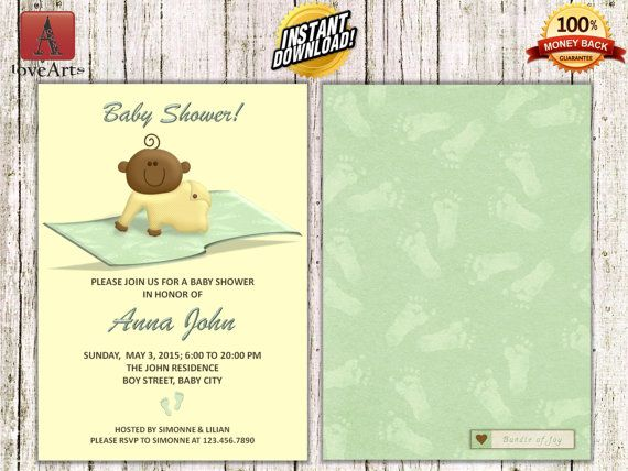Hey, I found this really awesome Etsy listing at https://www.etsy.com/listing/247434415/instant-download-front-back-baby-shower