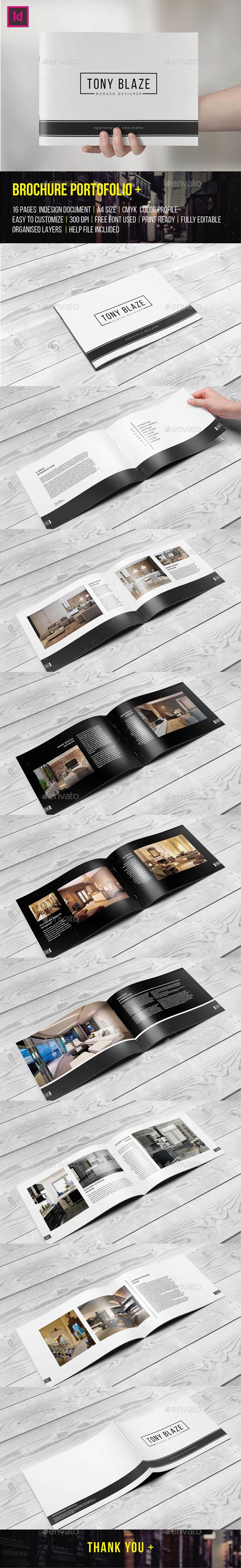 Brochure Portfolio 16 Pages (CS4, 29.7x21, 210x297, a4, agency, architecture, art, book, booklet, brochure, business, clean, corporate, customizable, design, designer, elegant, fashion, flexible, indesign, interior, layout, minimal, modern, photo, photographer, portfolio, project, showcase, template)