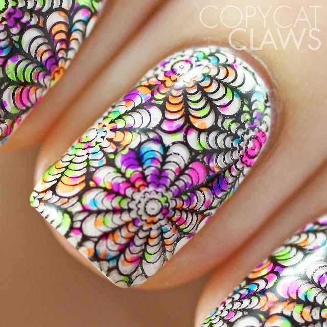 Copycat Claws: UberChic Beauty UC 3-01 Stamping Plate Review