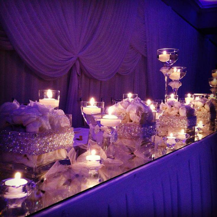 """Specialising in luxurious bridal table styling with our hand made """"Diamonds & Pearls"""" collection. Contact elanakweddings@hotmail.com"""