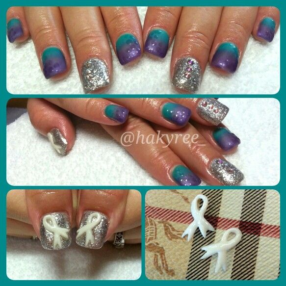 28 Best Nails Images On Pinterest Cancer Nails
