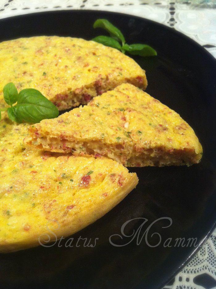 Frittata sprint ricetta status mamma facile veloce piatto crisp microonde foto blog cucinare status mamma