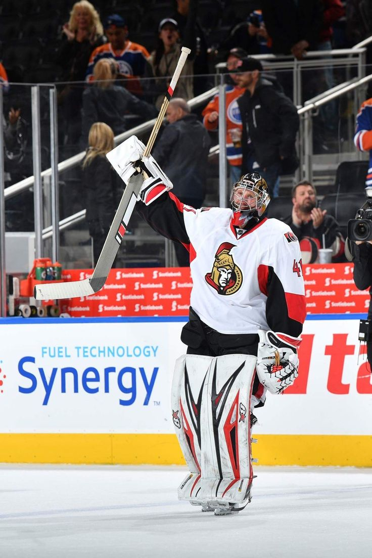 """That one is for you Nicholle.""   Craig Anderson posted a 37-save shutout on Sunday after returning to the Ottawa Senators following his wife's cancer diagnosis."