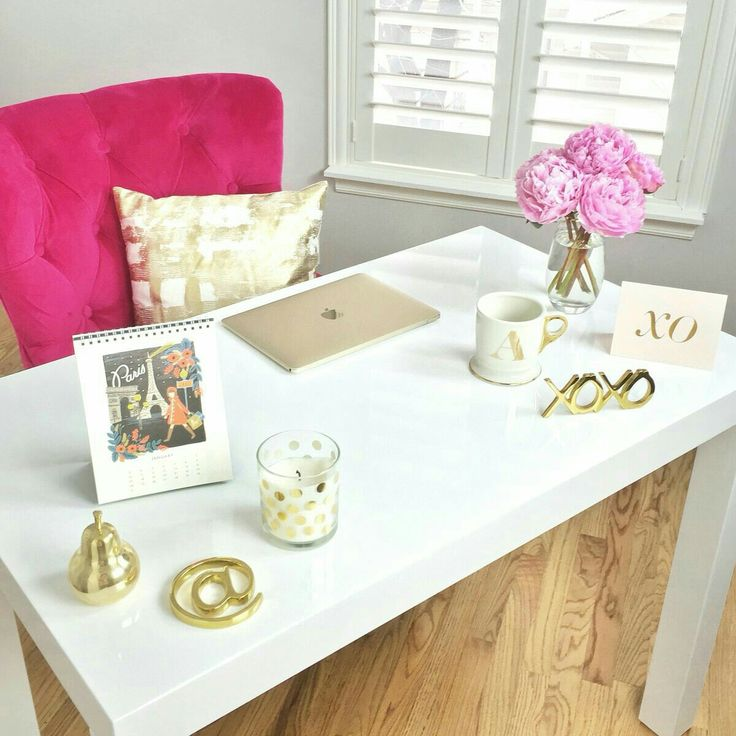 21 Feminine Home Office Designs Decorating Ideas: Ideas For Office Decor, Girl Cave And Home Office