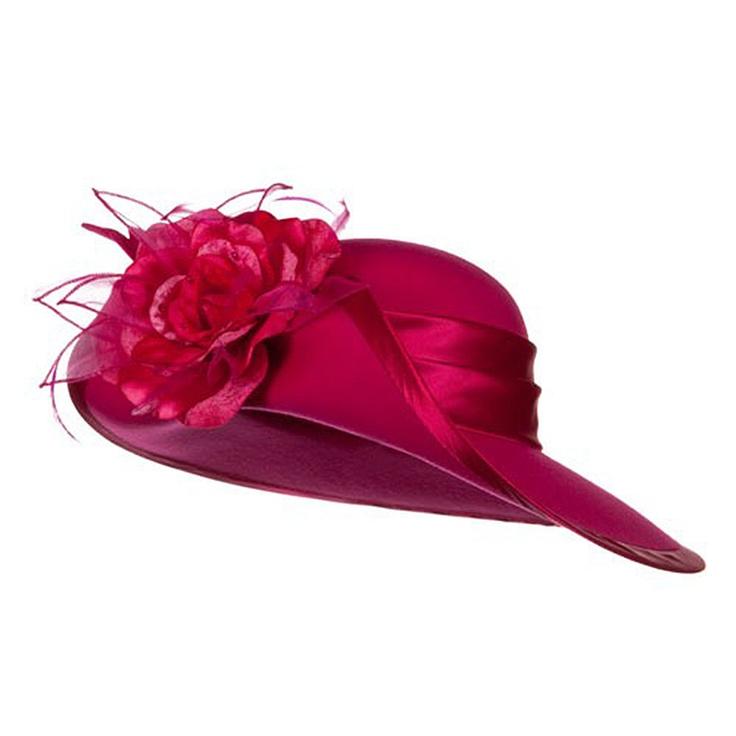 Amazing Ladies Lavender Dress Church Bucket Hats For Women SKU158108