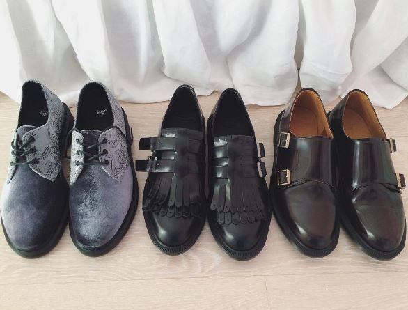 a0de490e9fff0 The 1461 Velvet shoe, Ellaria shoe and Pandora shoe. Image shared by ...