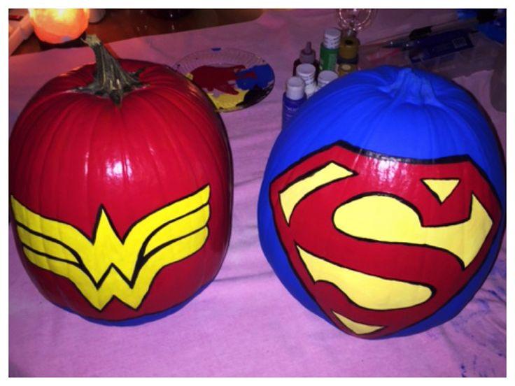The 25 Best Superman Pumpkin Ideas On Pinterest
