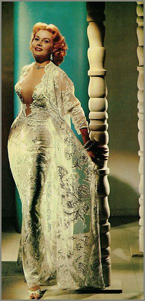 Rhonda Fleming.....GOOD GAWD THIS DRESS!!!! *faints*