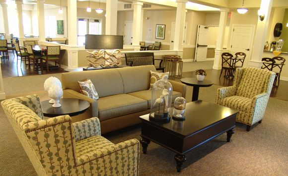 Retirement Home Interior Design Images Formal Living Space In Open Plan Of Stoney Brook Senior