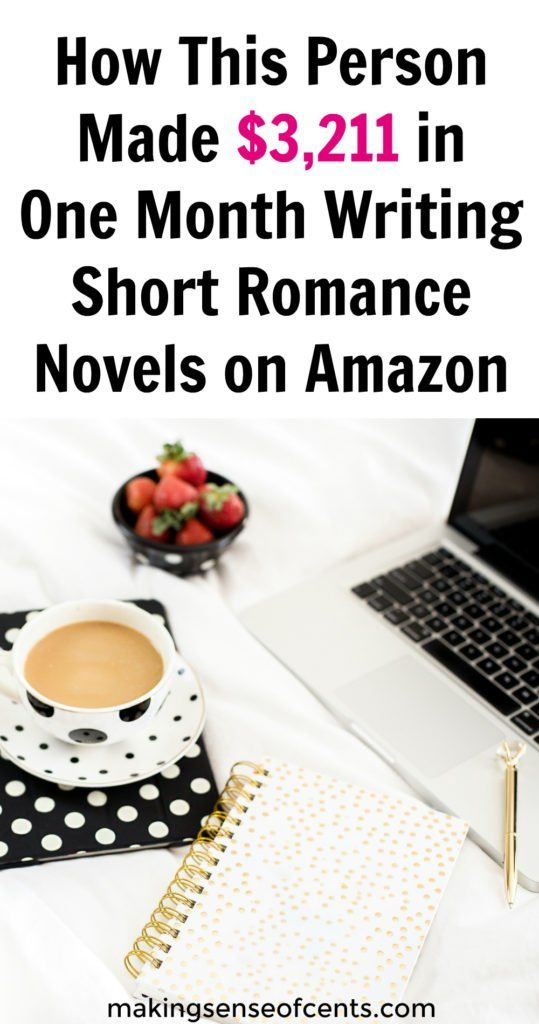 How to Make Money Writing Romance Novels For Adults on Amazon – Chelsea Johnes
