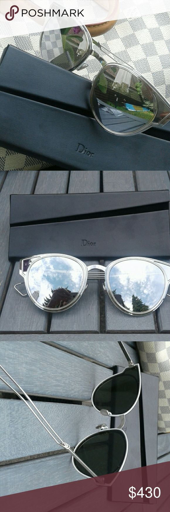 Authentic Dior sunglasses! Wonderful Dior sunglasses, 2017 model Sculpt! These are original Dior sunglasses that come with box, case, microfiber cloth and of course a certificate of authenticity. Please ne aware that I can't ship before July 24th.  Made i https://tmblr.co/ZRlNZd2NZw2a3