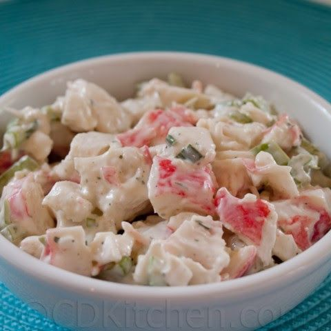 Golden Corral Crab Salad
