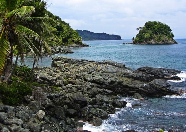 Colombia - Playa Aguacate, cerca a Capurgana en Choco.