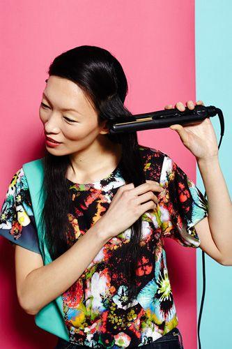 Flat Iron DIY - Hair Straightener Curls, Waves