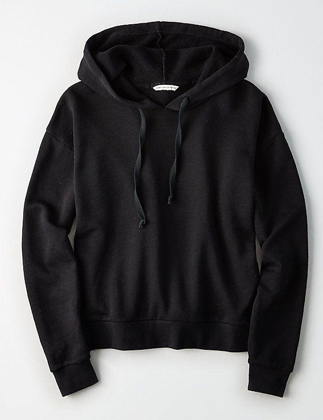 bdbf46cb Black Hoodie | Clothes in 2019 | Hoodie outfit, Hoodies, Black ...