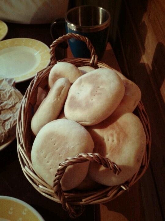 Pan amasado hecho por mi - Chile