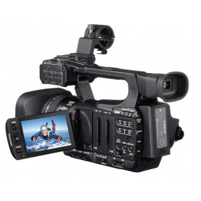 CANON XF100 Video camera with the Canon Full HD CMOS PRO -sensor.