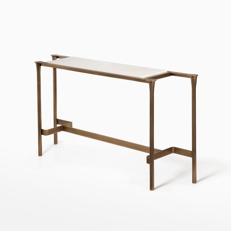 Calderwood Console Table - CASTE Design - John Douglas Eason Interiors, Inc. #JDEI