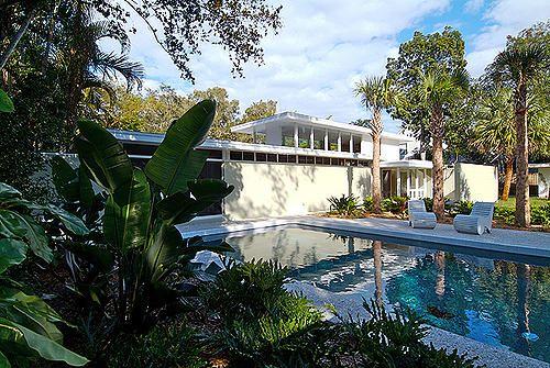 Mid century florida and jacksonville fl on pinterest for Modern house jacksonville