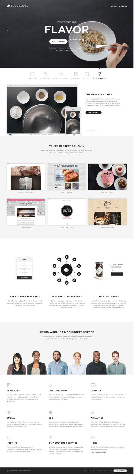 Squarespace | #webdesign #it #web #design #layout #userinterface #website #webdesign < repinned by www.BlickeDeeler.de | Take a look at www.WebsiteDesign-Hamburg.de