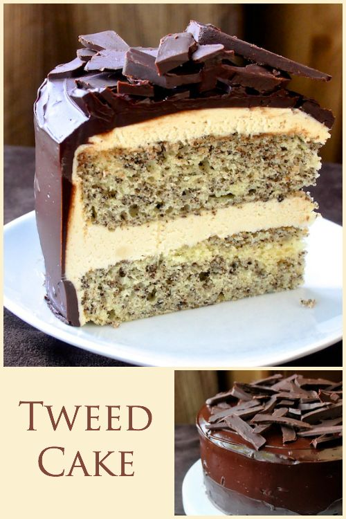 Newfoundland Tweed Cake - Based upon the Newfoundland favorite old fashioned cookie squares, this recipe takes the concept to a whole new level and makes a fantastic celebration cake too.