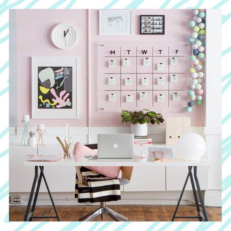 10 ideas para decorar tu espacio de trabajo en casa