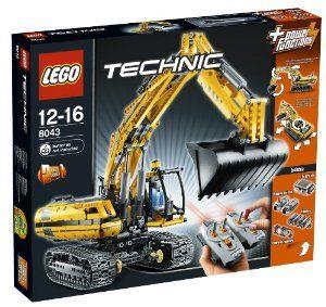 LEGO Technic 8043 - Motorized Excavator Power Functions by LEGO. $298.99