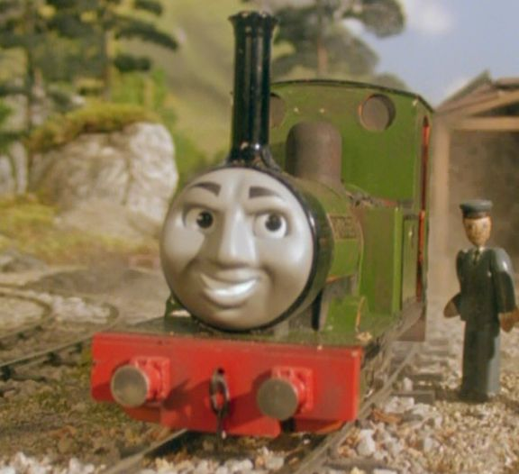 TIL that the children's TV show Thomas the Tank Engine had an episode where an engine was dismantled and installed as a generator behind a train shed alive and aware of what was happening to him.