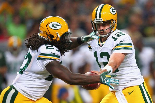 Eddie Lacy & Aaron Rodgers // Green Bay Packers