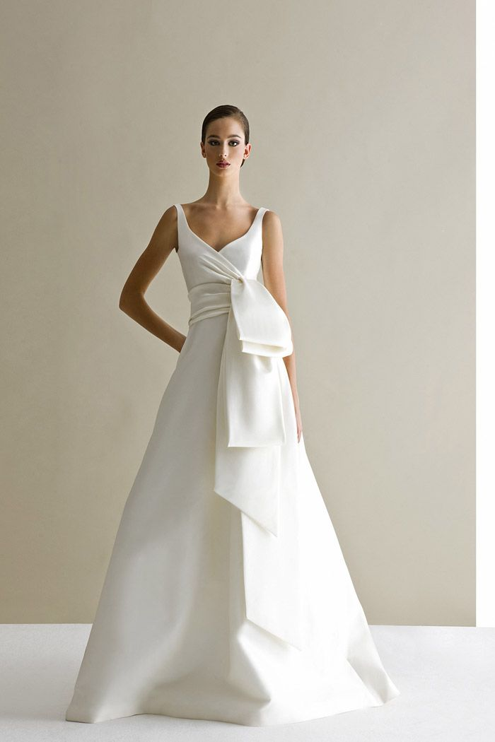 Favorite dress so far. too bad it is not available anywhere near me :(  Antonio Riva Bridal Collection. www.theweddingnotebook.com