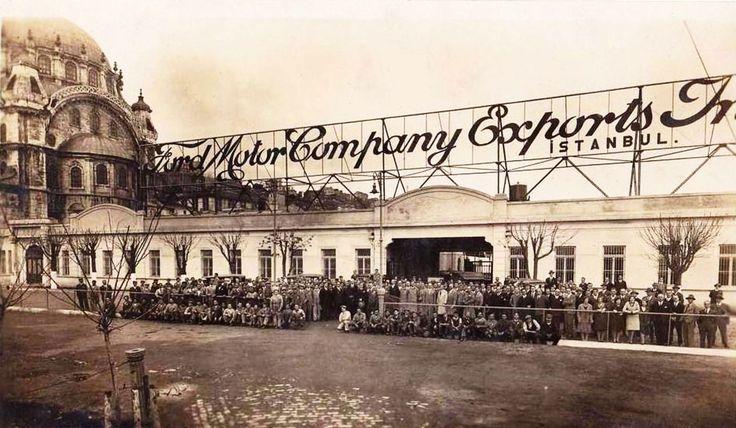 Eski İstanbul / Tophane'deki Ford Fabrikası