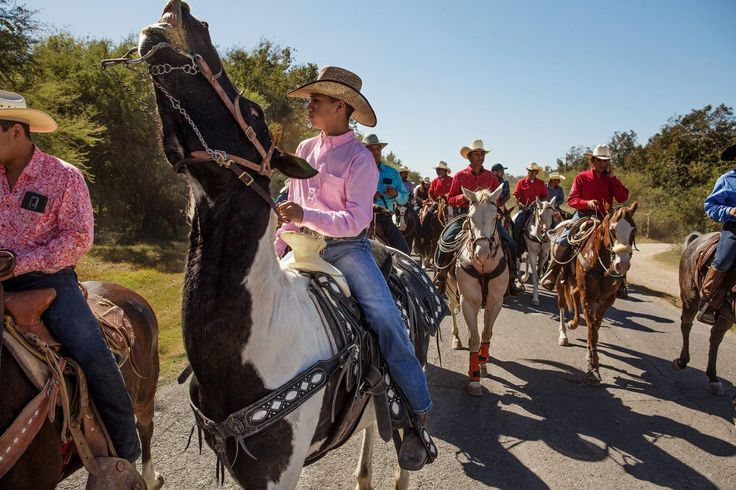 "Thousands of Mexicans take part in the ""Cabalgata de Morelos"", a three-day horseback ride complete with rodeos, music and festivities. #flights & #hotels #Cruises #RentalCars #mexico #lajolla #nyc #sandiego #sky #clouds #beach #food #nature #sunset #night #love #harmonyoftheseas #funny #amazing #awesome #yum #cute #luxury #running #hiking #flying"