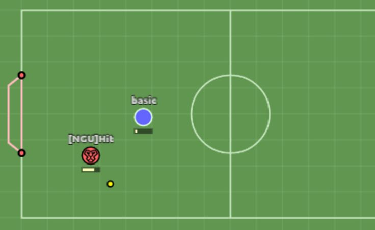 Play Myball.io in full screen! Play a game of football against other players! Just find an opponent and enter the field! Use WASD or ARROWS to move, SPACEBAR...