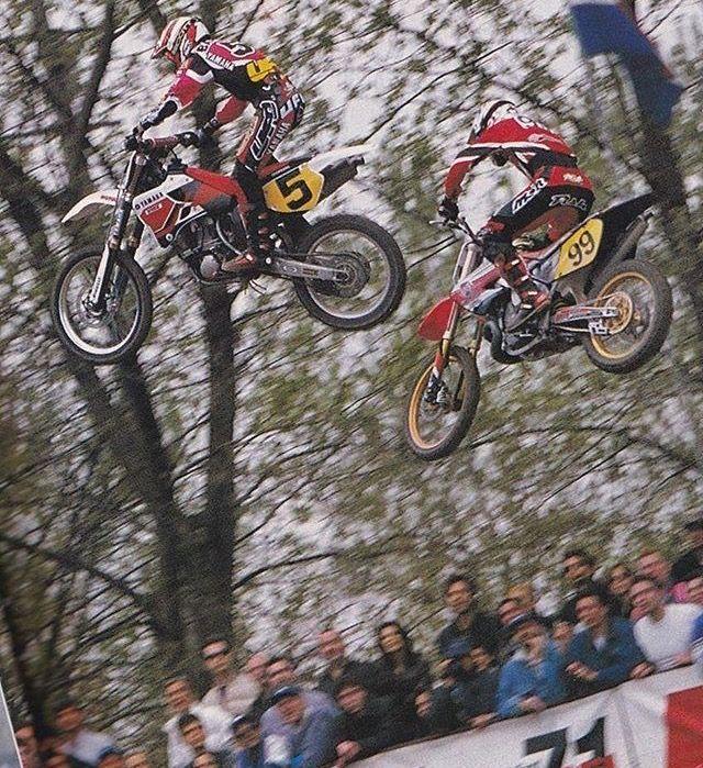 #andrea Bartolini #99 Rob Herring - motocross GP 90's