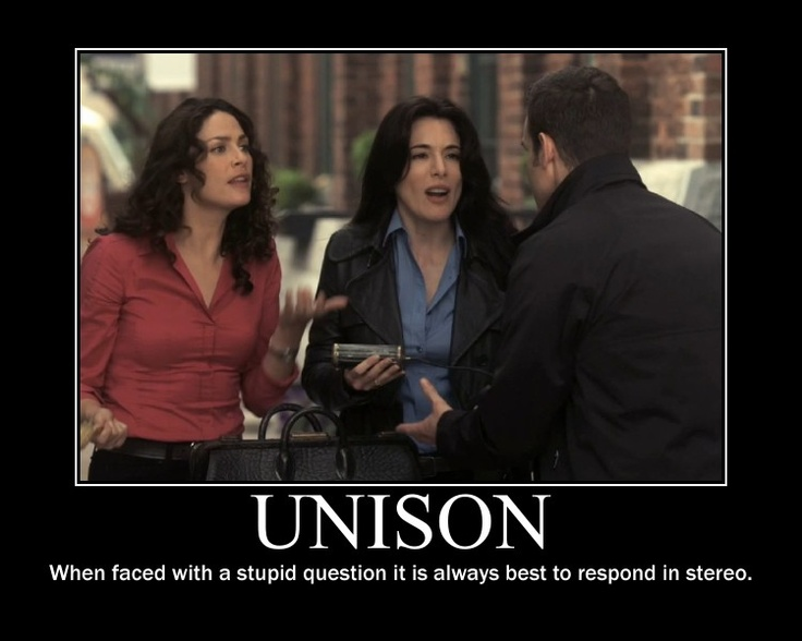 Unison.  (Warehouse 13)
