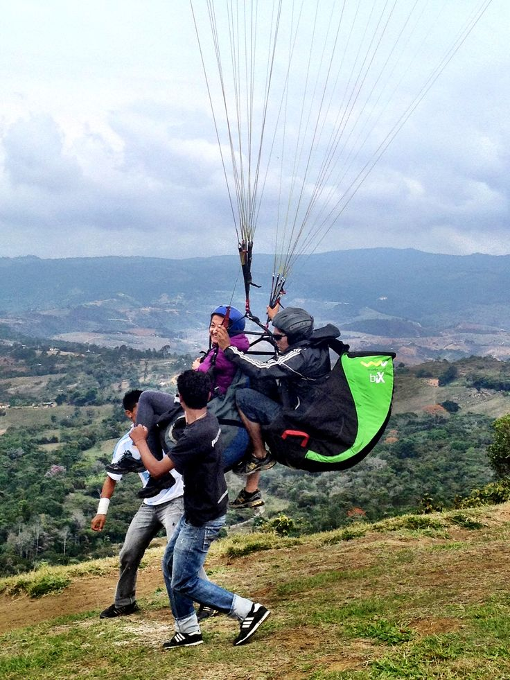 Paragliding in San Gil!