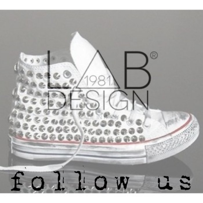 Converse customized handmade in italy by labdesign.