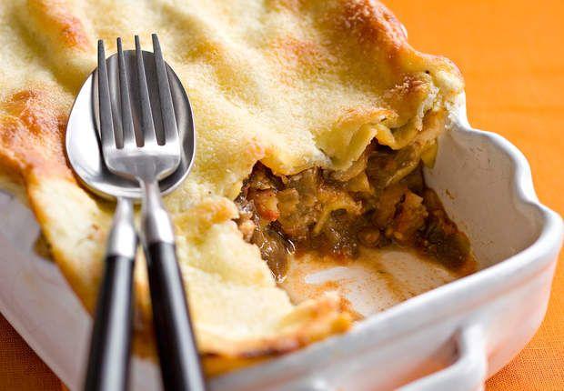 Lasagnes aux aubergines et trois fromagesVoir la recette des Lasagnes aux aubergines et trois fromages >>